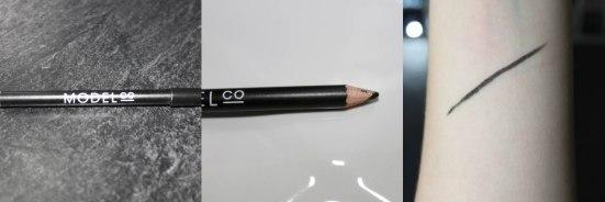 model co eyeliner